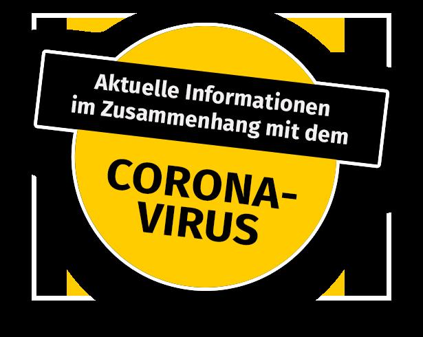 Aktuelle Informationen im Zusammenhang mit dem Coronavirus